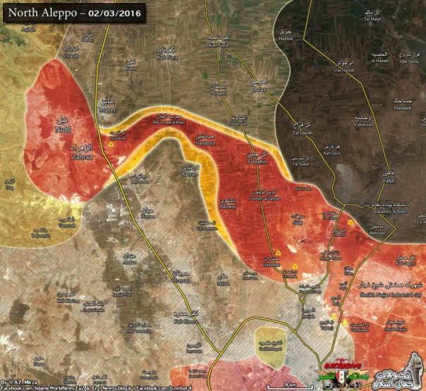 Nord-Aleppo-zoom-assedio-sollevato-e-rifornimenti-ribelli-interrotti-900x826