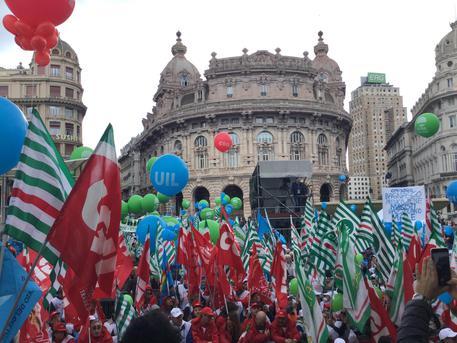 1 Maggio: manifestazione a Genova