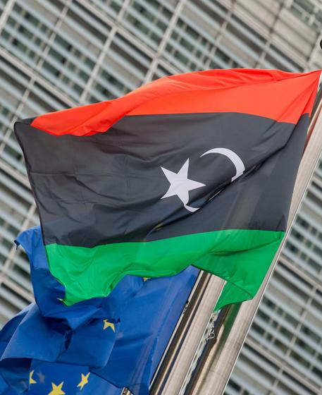 Prime Minister of Libya Fayez al-Sarraj in Brussels