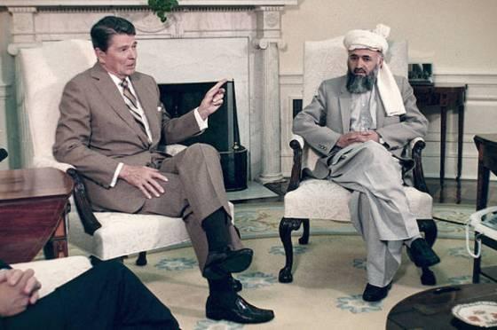 Ronald Reagan, Burhaneddin Rabbani