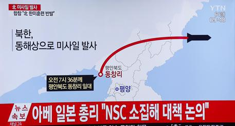 North Korea fires multiple missiles - South Korean military