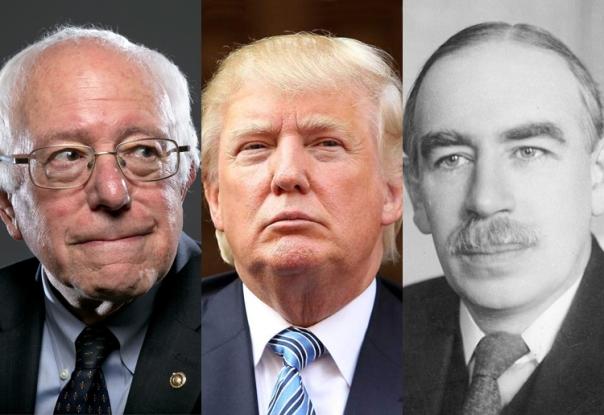 Sanders-Trump-Keynes