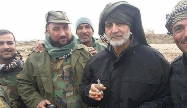 New Pics of General Qassem Suleimani in Tikrit Frontline