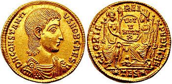 350px-Solidus-Constantius_Gallus-thessalonica_RIC_149