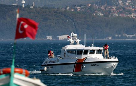 Russian spy ship Liman collides with a freighter off Turkey's coast