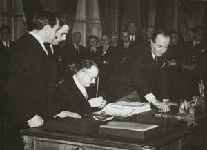 DIKTAT Antonio Meli Lupi di Soragna firma Trattato pace Italia a Parigi 10.2.47 218-300