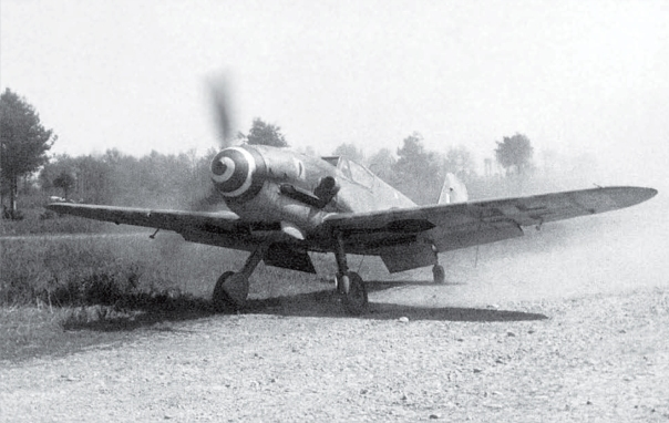Messerschmitt-Bf-109G10-Erla-ANR-1Gr2Sqn-White-10-Rovetta-WNr-491333-Pozzolo-1945-02