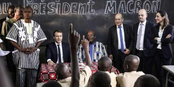 BURKINA-FRANCE-DIPLOMACY-EDUCATION