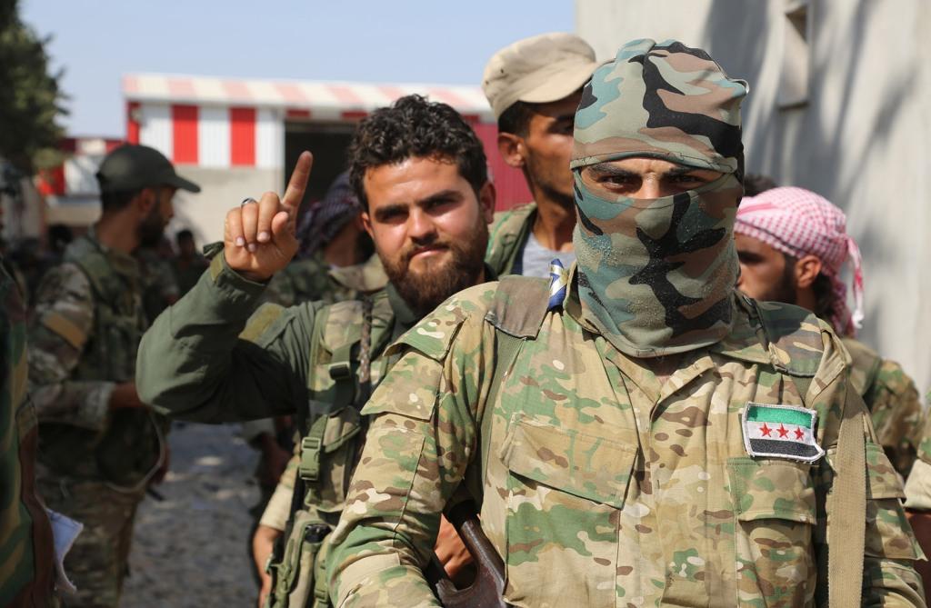2765.- Chi sono i mercenari combattenti del proxy turchi in Siria ...